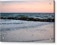 Sunset Colors The Atlantic Sky Acrylic Print