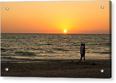 Sunset Embrace Acrylic Print