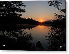 Sunset Evening Acrylic Print
