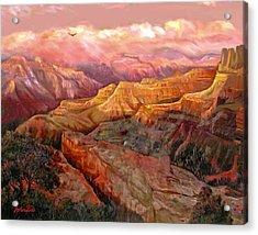 Sunset Grand Canyon Acrylic Print
