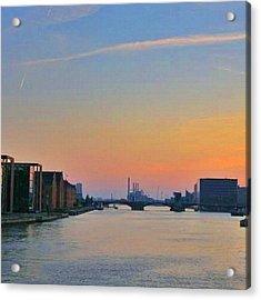 #sunset In #copenhagen Acrylic Print
