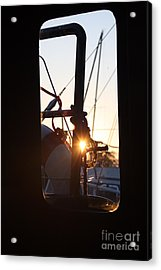 Sunset In Holland Acrylic Print