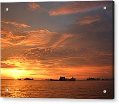 Sunset In Merak-2 Acrylic Print