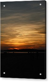 Acrylic Print featuring the photograph Sunset In Pastels by Fotosas Photography