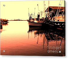 Sunset Acrylic Print by Janice Spivey