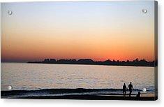 Sunset Acrylic Print by Joe Fernandez