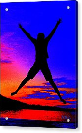 Acrylic Print featuring the photograph Sunset Jubilation by Patrick Witz