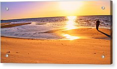 Acrylic Print featuring the photograph Sunset by Kelly Reber