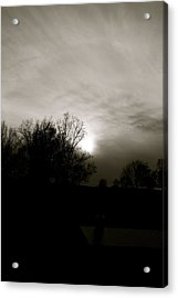 Acrylic Print featuring the photograph Sunset by Kume Bryant