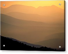 Sunset Layers Acrylic Print