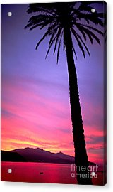 Acrylic Print featuring the photograph Sunset by Luciano Mortula