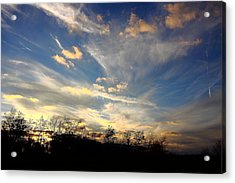 Sunset Magic Acrylic Print by Kevin Schrader