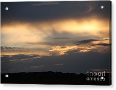 Sunset Acrylic Print by Marta Alfred