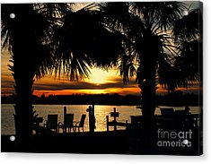 Sunset Memories Acrylic Print by Benanne Stiens