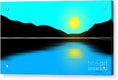 Sunset No. 2 Acrylic Print by George Pedro