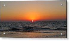 Sunset On Longboat Key Acrylic Print by Loretta Luglio