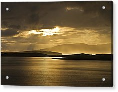 Sunset On Skye Acrylic Print