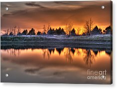 Sunset Over Bryzn Acrylic Print
