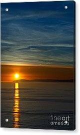 Sunset Over Catalina Acrylic Print by Sonny Marcyan