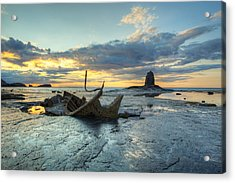 Sunset Over The Admiral Acrylic Print by Martin Williams