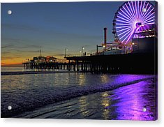 Sunset Purple Acrylic Print