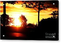 Sunset Soon Acrylic Print by Alexander Photography