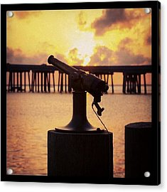 Sunset Sounder Acrylic Print
