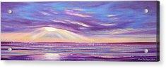 Sunset Spectacular - Panoramic Sunset Acrylic Print