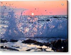 Sunset Splash Acrylic Print