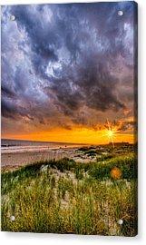 Sunset Storm Acrylic Print