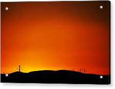 Sunset Towers Acrylic Print