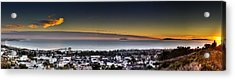 Sunset Ventura Ca Acrylic Print by Joe  Palermo