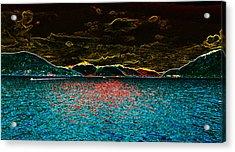 Sunshine Coastin' Acrylic Print by Travis Crockart