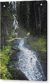Sunshine Falls Acrylic Print