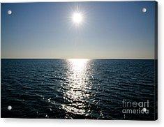 Sunshine Over The Mediterranean Sea Acrylic Print