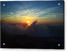Acrylic Print featuring the photograph Sunsrise At Niagara by Pravine Chester