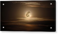 Super Moon Of 2012 Acrylic Print