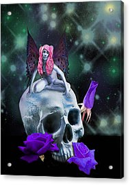 Super Star Acrylic Print by Diana Shively