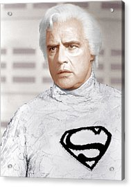 Superman, Marlon Brando, 1978 Acrylic Print by Everett