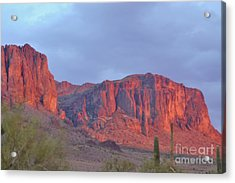 Superstitions After The Rain Acrylic Print by Patty Descalzi