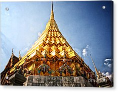 Supported Acrylic Print by Thanh Tran