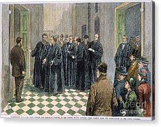 Supreme Court, 1881 Acrylic Print by Granger
