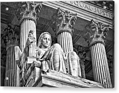 Supreme Court Building 15 Acrylic Print by Val Black Russian Tourchin