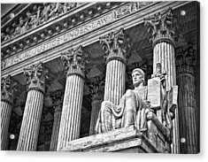 Supreme Court Building 19 Acrylic Print by Val Black Russian Tourchin