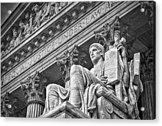 Supreme Court Building 21 Acrylic Print by Val Black Russian Tourchin