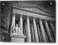 Supreme Court Building 6 Acrylic Print by Val Black Russian Tourchin