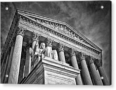 Supreme Court Building 7 Acrylic Print by Val Black Russian Tourchin