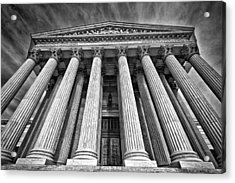 Supreme Court Building 8 Acrylic Print by Val Black Russian Tourchin