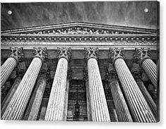 Supreme Court Building 9 Acrylic Print by Val Black Russian Tourchin
