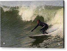 Surfer2 Acrylic Print by Dan Madden